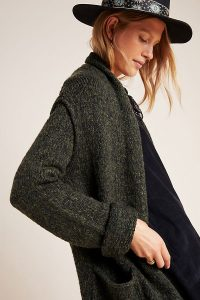 ANTHROPOLOGIE Josie Cardigan in Holly ~ comfy dropped shoulder cardigans