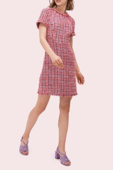 Kate Spade Multi Tweed Dress - flipped