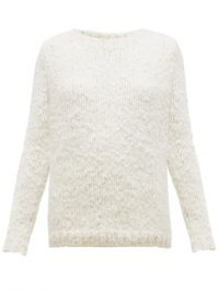 GABRIELA HEARST Lawrence cashmere sweater ~ soft luxury knits