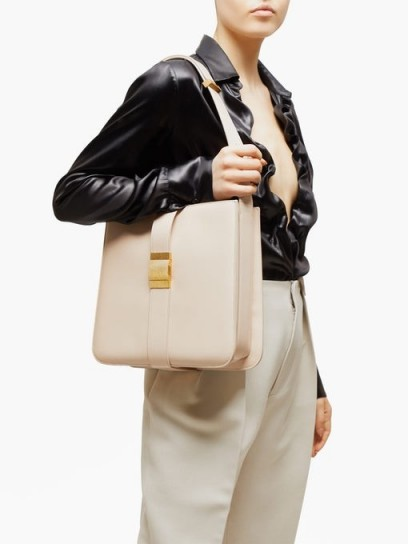 BOTTEGA VENETA Marie cream leather tote bag ~ chic bags