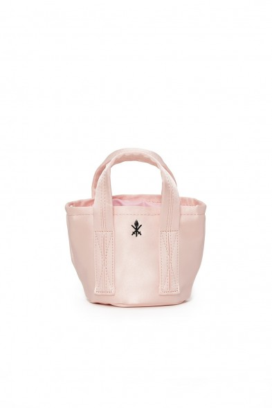 Opening Ceremony SATIN MINI BUCKET BAG PINK SALT