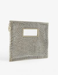 ROSANTICA Iside crystal-embellished clutch – glamorous evening bag