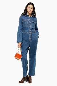 TOPSHOP SEATTLE Utility Double Belt Boiler Suit