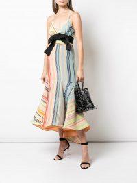 SILVIA TCHERASSI Summer Stripes dress – voluminous hemlines