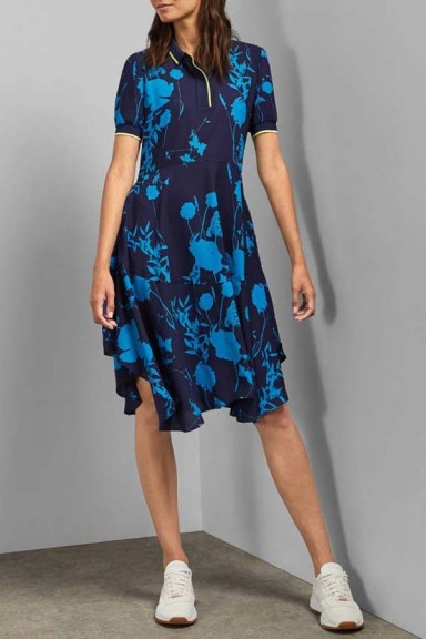 Ted Baker Ohlah Bluebell Midi Dress