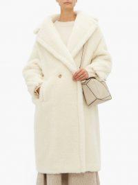 MAX MARA White Teddy coat ~ luxe winter coats