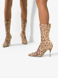 Zimmermann Brown Leopard Print Boots