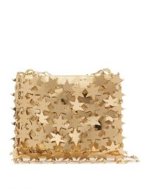 PACO RABANNE Comet 1969 Iconic chainmail-star clutch bag in gold ~ evening glamour