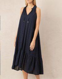heidi klein New Haven Frill Midi Dress – beachwear – pool fashion