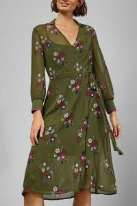 Ted Baker Mammil Floral Wrap Dress