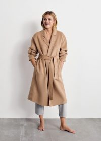 Mango Unstructured wool-blend coat REF. 53055708-BATIN5-LM | classic belted coats