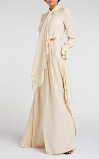 ROLAND MOURET VALETTA GOWN in Rose ~ fluid event gowns
