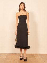 REFORMATION Ahna Dress in Black – lbd