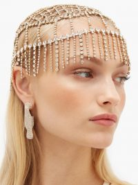 ROSANTICA BY MICHELA PANERO Divinità crystal-embellished headpiece / sparkling headpieces / event accessories