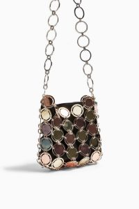 TOPSHOP GLORIA Cage Shoulder Bag Gold / vintage style bags