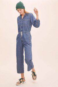 Levi's Luella Denim Jumpsuit ~ casual cropped jumpsuits