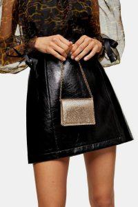 Topshop MONTANA Mini Gold Bag | small evening bags