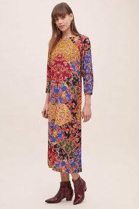 Kachel Sarita Floral Midi Dress – multi-print dresses