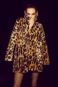 NASTY GAL x Cara Delevingne Wild Heart Leopard Faux Fur Coat – celebrity style fashion