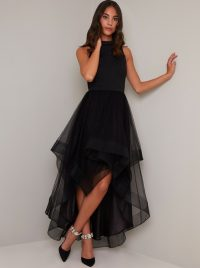 Chi Chi Thailia Dress in Black | floaty LBD