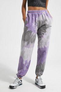 iets frans… Tie-Dye Joggers / cuffed sports pants