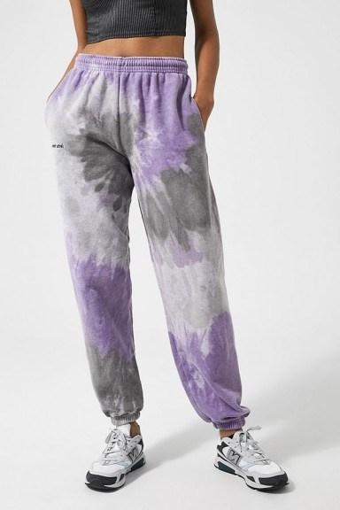 iets frans… Tie-Dye Joggers / cuffed sports pants - flipped