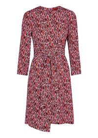 HUGO Kiranas prink printed dress