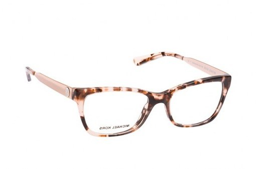 Michael Kors Marseilles MK 4050 3162 pink tortoise frame – stylish glasses – full-rim square / rectangle frames - flipped
