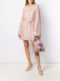 STELLA MCCARTNEY animal print dress STELLA MCCARTNEY pink animal print dress