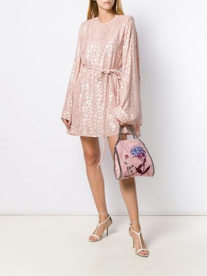 STELLA MCCARTNEY animal print dress STELLA MCCARTNEY pink animal print dress