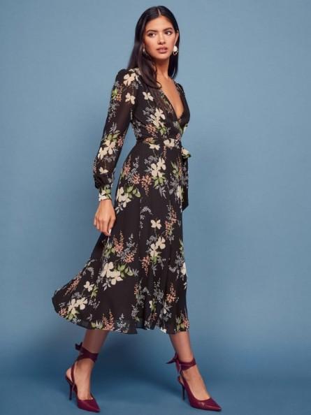 Reformation Susanna Dress in Isabella   floaty waist tie dresses