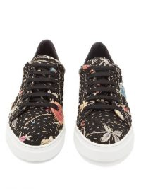 BY WALID 19th-century tapestry trainers in black