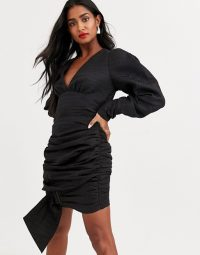 Atoir was loved wrapped bodycon dress with buckle