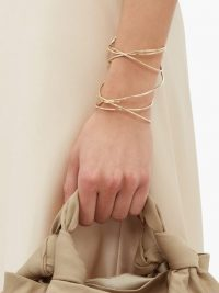 COMPLETEDWORKS The Meditations of a Fisherman gold-vermeil cuff – delicate twisted cuffs