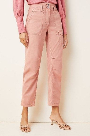 Wanderer Utility Trousers in Rose | pink pants - flipped