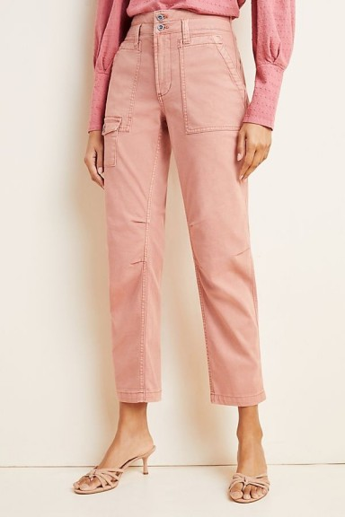 Wanderer Utility Trousers in Rose | pink pants