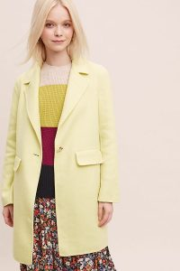 Rino & Pelle Coat in Yellow | spring coats / colours
