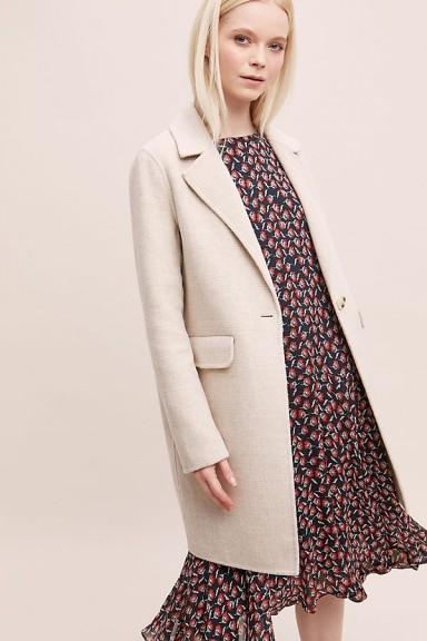 Rino & Pelle Amma Coat in Sand | neutrals | neutral coats