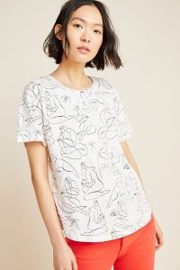 Maggie Stephenson Sisterhood Graphic Tee in Ivory / printed short sleeve T-shirt