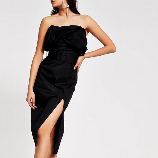 River Island bodycon dress | glamorous lbd