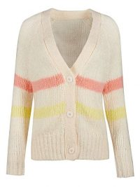 OLIVER BONAS Blossom Stripe Knitted Cardigan