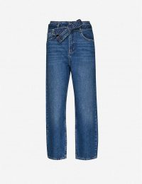 CLAUDIE PIERLOT Persane faded straight-leg high-rise jeans