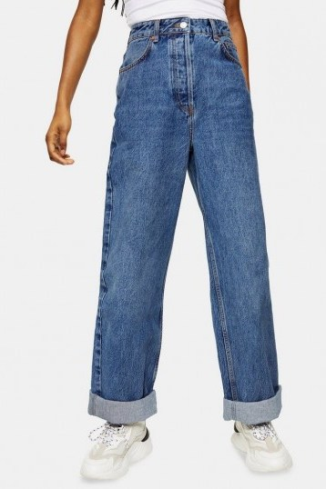 CONSIDERED Topshop One Oversized Mom Jeans - flipped