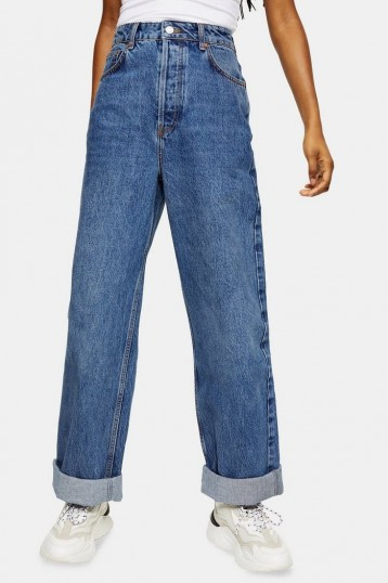 CONSIDERED Topshop One Oversized Mom Jeans