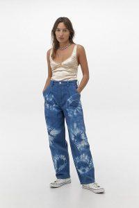 BDG Erin Tie-Dye Cocoon Jeans