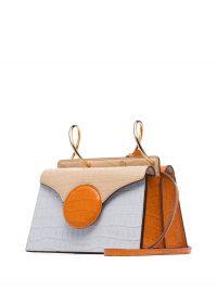 DANSE LENTE mini Phoebe crossbody bag | small colourblock bags