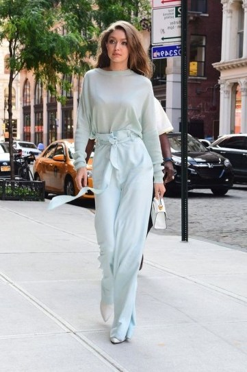 Gigi Hadid at her most stylish…such a simple look, but beautiful – street style – models - flipped