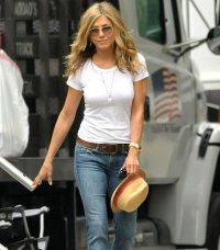 Jennifer Aniston's casual look