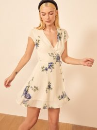 Reformation Radley Dress in Macadamia