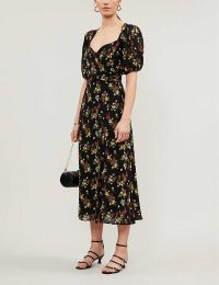 REFORMATION Wildflower floral-print woven maxi dress in Vionnette – vintage look dresses